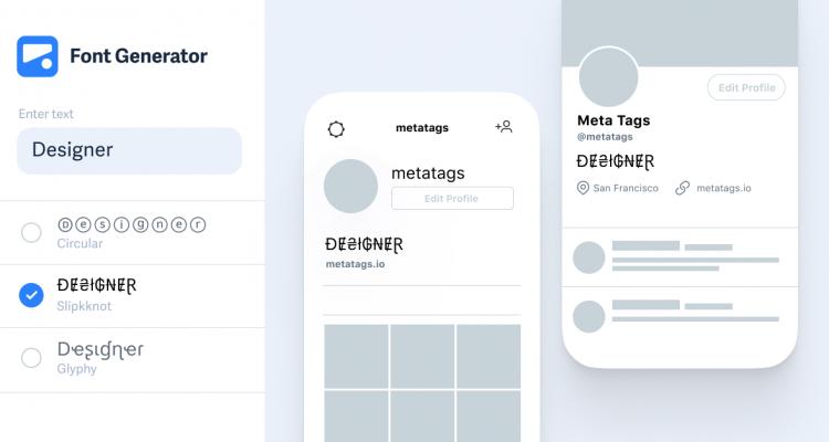 instagram-font-generator